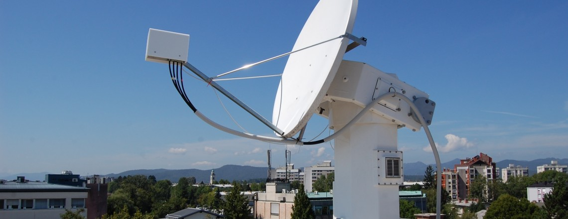 Four channel AlphaSat Ka- and Q- band receiver, Ljubljana